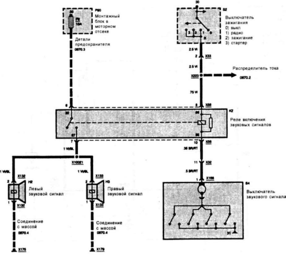 Схемы электрооборудования БМВ